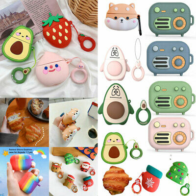$ CDN6.04 • Buy Cartoon 3D Silicone Airpod Protective Case Cover Skin For Apple Airpods Pro 1 2-