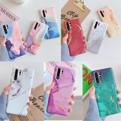 Matte Marble Silicone Soft Case Cover For Huawei P30 P20 Pro Mate 30 20 Lite • 4.45£