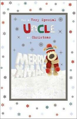 Boofle For A Very Special Uncle At Christmas Greeting Card Cute Xmas Cards • 3.29£
