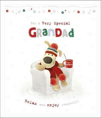 £4.59 • Buy Boofle For A Very Special Grandad Christmas Greeting Card Cute Xmas Cards
