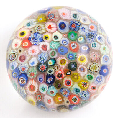 A Strathearn Millefiori Close Pack Paperweight C1970 • 56£