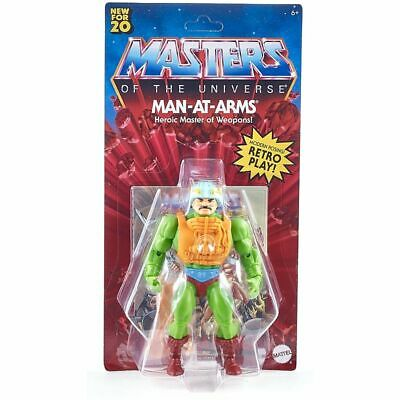 $25.95 • Buy Masters Of The Universe Origins Walmart Man-At-Arms 5.5  Battle Action Figure