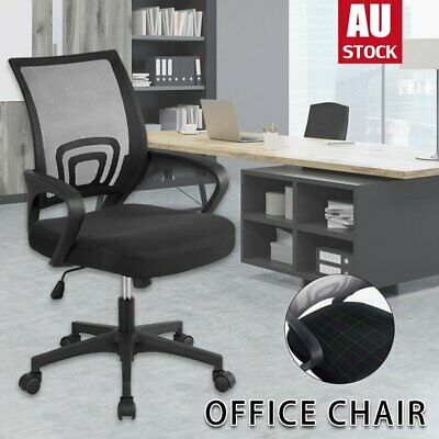 AU48 • Buy Office Chair Gaming Chair Computer Mesh Chairs Executive Seating Study Seat Grey