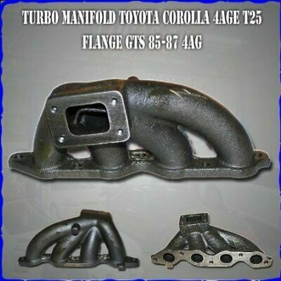 AU279.99 • Buy Cast Turbo Exhaust TURBO T2 Manifold Suit Toyota Corolla 4AGE 4AG 4AGZE