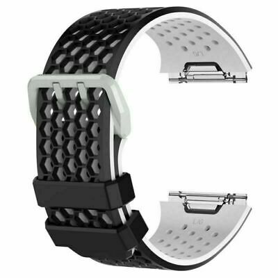 $ CDN6.14 • Buy For Fitbit Ionic Watch 10 Colors S/L Silicone Wrist Band Sport Strap Bracelets