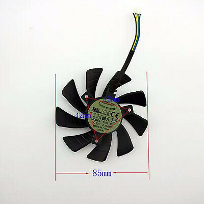 AU8.44 • Buy For GeForce GTX 1060 Mini 3GB ITX Graphics Card Cooling Fan T129215SH 4Pin