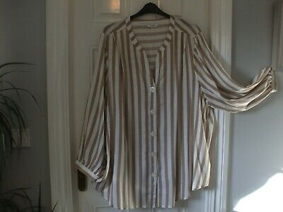 Womens Blouse/longline Top By Evans Size 28 New • 4£