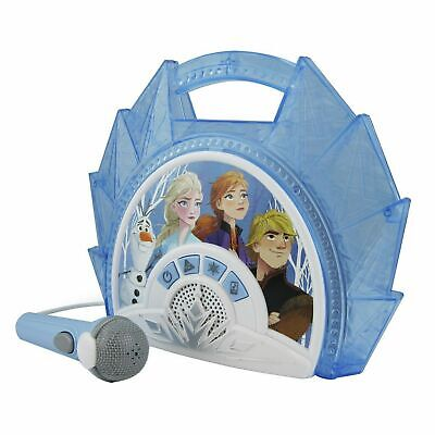 Disney Frozen 2 Sing-Along Boombox With Mic - Free 90 Day Guarantee • 24.99£