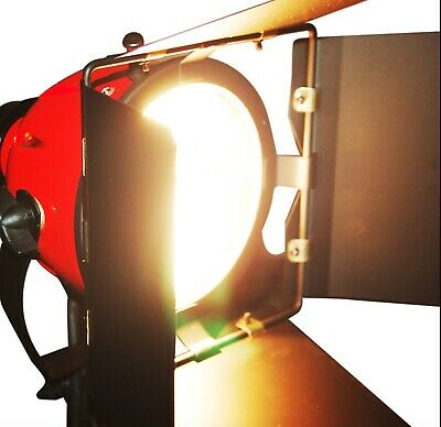 Photography Continuous Red Head Lighting 800W Video Pro Studio Kit 5m Cord UK • 13.99£