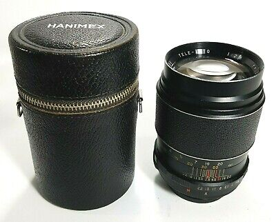Hanimex 135mm F2.8 M42 Mount Telephoto Lens UK Fast Post • 19.95£