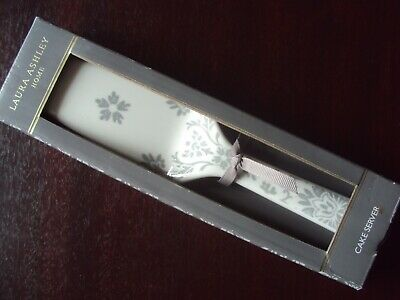 Laura Ashley Ceramic Porcelain Cake Server Boxed New Unused Free Uk Post • 15.99£