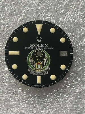 $ CDN263.16 • Buy Dial Matte Logo Military UAE Rolex Submariner Sea Dweller 1665 .( Refinished )