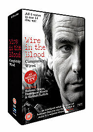 Wire In The Blood - Completely Wired (DVD, 2009, 14-Disc Set, Box Set) NEW • 12.95£