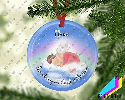 Personalised Baby Loss/memorial/remembrance Christmas Tree Decoration • 7.95£