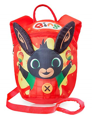 Bing Kids Reins Backpack | Bing Bunny Toddler Red Backpack For Boys, Girls | | | • 18.71£