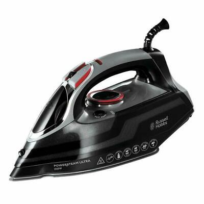 View Details Russell Hobbs 20630 Powersteam Ultra 3100 W Vertical Steam Iron - Black And Grey • 34.75£