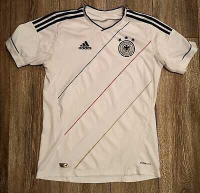 Genuine Adidas Germany International Home Football Shirt Retro Vintage Kids XL • 9.95£