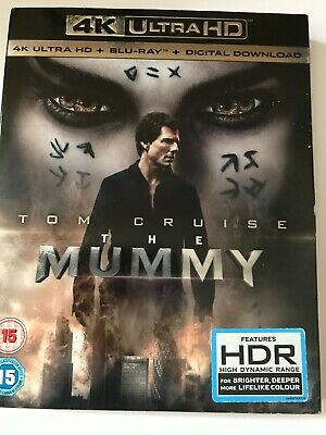 The Mummy - (4K Ultra UHD + Blu-ray 2017) Tom Cruise And Russell Crowe Thriller • 0.99£