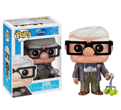 £13.89 • Buy Pop Disney Movie UP : CARL #59 Vinyl Figure W/Protector Case Toy Gift W/glasses
