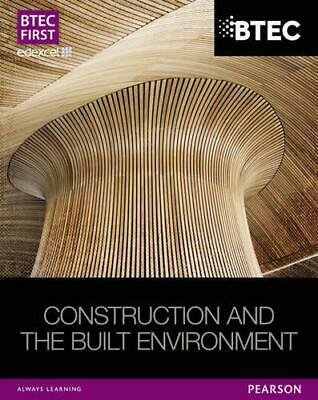 £35.98 • Buy BTEC First NG Construction And The Built Environment Student Book (BTEC First Co