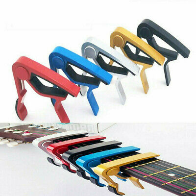 $ CDN4.44 • Buy Guitar Capo Acoustic Clip Guitar String Instrument Clamp Fret Electric
