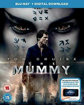 The Mummy (2017) BD + Digital Download [Blu-ray], Very Good DVD, Javier Botet, S • 3.15£