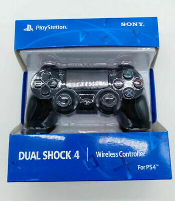 Sony PS4 Controller PlayStation Games Console Black Game Pad DualShock Wireless • 23.99£