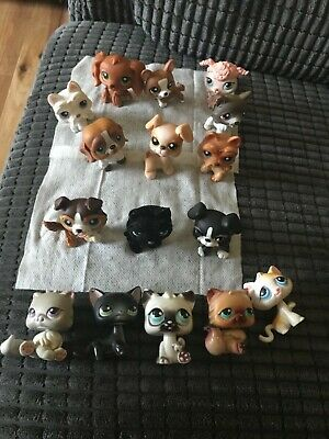 Littlest Pet Shop Bundle Of Dogs And Cats Some Rare  • 16£