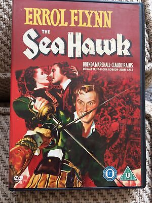 The Sea Hawk (DVD, 1940) Errol Flynn - UK Region 2 Vg Condition Aa3  • 3£