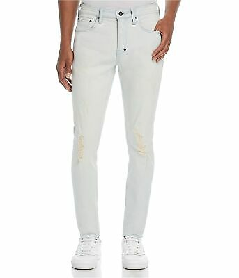 Prps Goods & Co. Mens Tapered Slim Fit Jeans, Blue, 34W X 34L • 96.26£