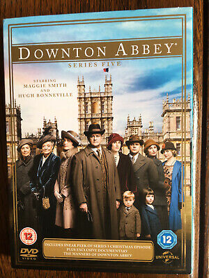 Downton Abbey: Series 5 (DVD, 2014, 3-Disc Set) • 9.50£