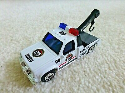 Realtoy  GMC / CHEVROLET POLICE Tow Truck 1:64 Rescue Recovery  Mint • 8£