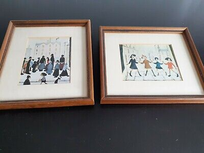 2 Lowry Framed Pictures • 8£