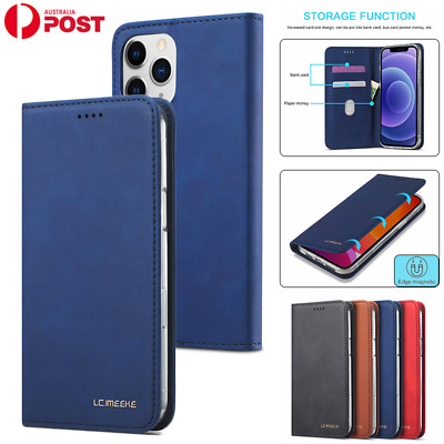 AU14.99 • Buy For IPhone 12 11 Pro Max Mini XR XS SE 8 7 Plus Case Leather Wallet Card Cover