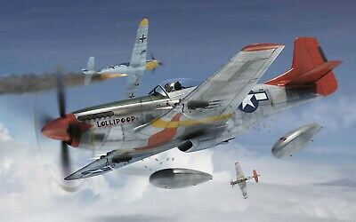 Airfix -  North American P-51d Mustang Wwii Fighter Plane - 1:72 - A01004 • 6.99£