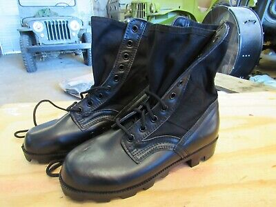 $15 • Buy US GI Military Black Jungle Combat Boots NEW US MADE  {5R}