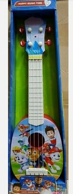 Kids Girls Boys Beginners Toy Guitar 4 String Children Music Paw Patrol Toys • 14.99£