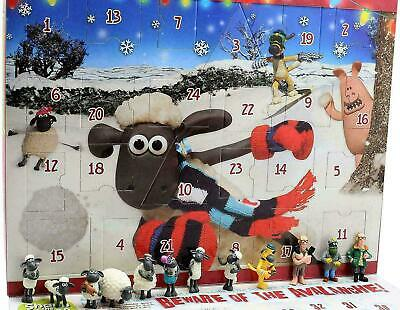 Shaun The Sheep Christmas Advent Calendar Wallace & Gromit Kids Board Game  • 12.99£