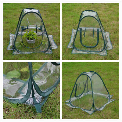 Mini PopUp Garden Plants Flowers Cover Tent PVC Greenhouse Cloche Propagator • 16.89£