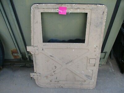 $599 • Buy Used Driver Front X-Door For Uparmor M1151 HMMWV *NOT M998*, Incomplete