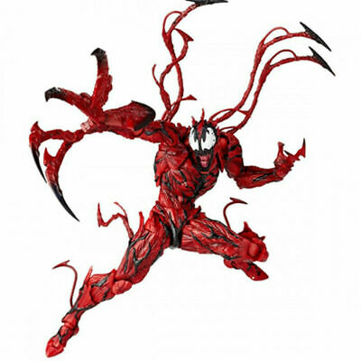 6  Yamaguchi Marvel Carnage Red Venom Action Spider-Man Figure Model Play Toys • 17.88£