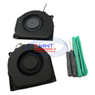 AU34.71 • Buy FREE SHIP For Lenovo Legion Y7000 Original CPU + GPU Cooling Fan + Tools VJOP451