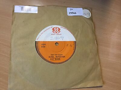 £20 • Buy Clyde McPhatter - Try Try Baby Rare Single Sided London Promo 7 Inch Single