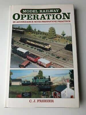 MODEL RAILWAY OPERATION By C.J. Freezer VGC Hardback Book  • 4.95£