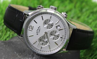 ROTARY Men's Chronograph Quartz Watch GS00407/06 • 31£