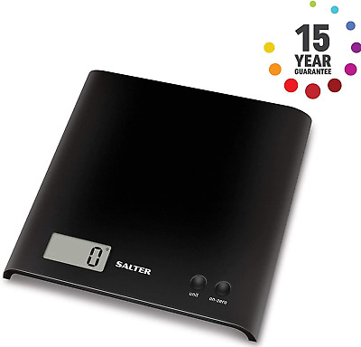 Salter Digital Kitchen Scale – As Seen On TV, Bake Off Electronic Food Weighing • 12.99£