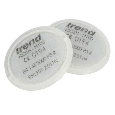 Trend STEALTH/1 Air Stealth Mask P3 Replacement Filter Twin Pack • 8.90£