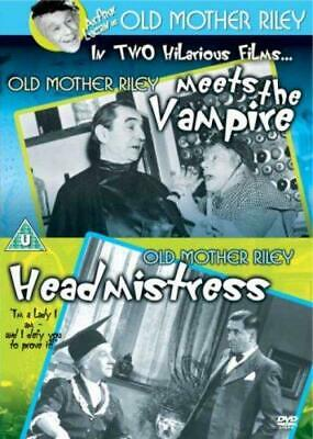 Old Mother Riley Meets The Vampire/Old Mother Riley Headmistress [DVD], Very Goo • 6.26£