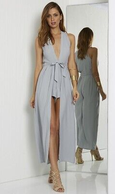 AU15 • Buy Valencia Jumpsuit In Dove - Runaway The Label Small/ Size 8