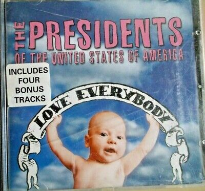 LOVE EVERBODY - The Presidents Of The United States Of America - CD Album • 3.99£